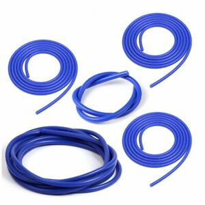 Silicone Vacuum Hose Kit Assortment 3mm 4mm 5mm 6mm 10mm Blue Intercooler Pipe