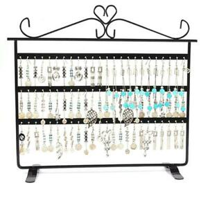 72 Holes Earrings Necklace Jewelry Copper Plated Display Stand Rack Holder