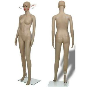 Realistic Female Mannequin Full Body Manikin Dress Form Display With Base F 2