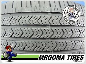 1 Goodyear Eagle Sport A S Moe Rft 245 45 18 Used Tire 72 Life No Patch 2454518