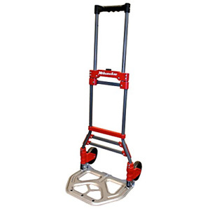 Milwaukee Folding Hand Truck Dolly Portable Moving Cart Durable Lightweight