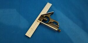 Starrett New C33h 6 4r Combination Forged Hardened Square Head W blade