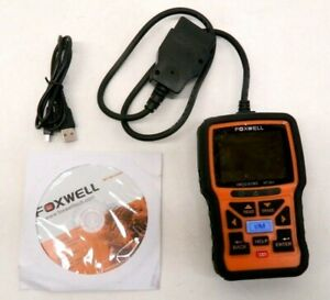 Obdii Eobd Can Car Engine Diagnostic Scan Tool Obd2 Code Reader Foxwell Nt301 Us