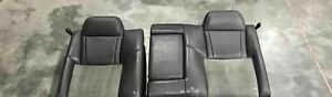 2007 Dodge Charger Srt8 Rear Back Of Seat Oem Cloth Leather Good Condition