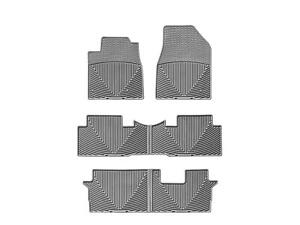 Weathertech All Weather Floor Mats For Honda Pilot 09 15 1st 2nd 3rd Row Grey