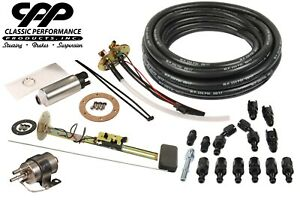 Cpp Efi Fi Ls Fuel Injection Conversion Accessory Kit Tank Install Package 30ohm