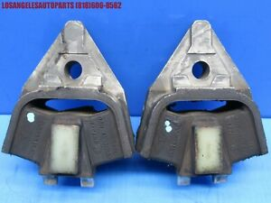 80 95 Porsche 928 Gearbox Transmission Mounts Bushing Pair Oem Original