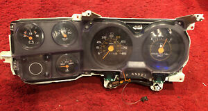 81 87 Square Body Chevy Pickup Truck Speedometer Gauge Dash Instrument Cluster