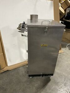 Wagner Powder Coating Fluidizing Hopper 100lb W Optional Pumps Refurbished