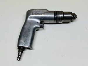 Nice Cleco 1 4 Pneumatic Drill With Jacobs 7b Chuck Aircraft Tool