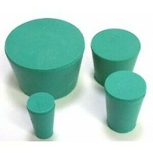 Rubber Stoppers laboratory Stoppers sizes 4 6 1 2 7 8 qty s Of 5 10 25