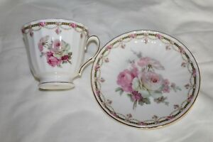 Royal Winchester Tea Cup And Saucer Bone China England