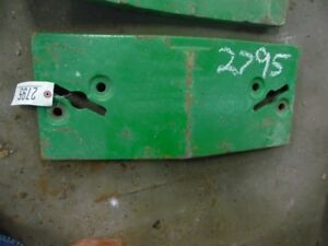 John Deere 10 20 Series Tractor Front Slab Weight 100 Lb Part r27643r Tag 2795