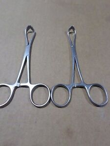Konig Mds1412113 Non perforating Lorna Towel Clamps Towel Forceps Hemostats 2