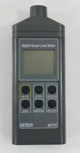 Extech Digital Sound Level Meter Model 407727 Carrying Case Manual Works