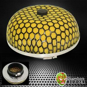 2 5 63 5 Mm Yellow Mushroom Washable High Flow Mesh Cold Air Intake Filter