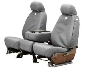 Covercraft Carhartt Custom Fit Seat Covers For 2014 2021 Toyota Tundra Gray