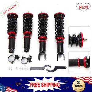 Coilover Kits Fit For Honda Civic Ek 1996 1997 1998 1999 2000 Dx Ex Gx Si Shocks