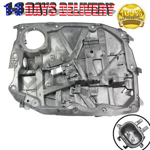 Front Left Window Regular With Motor Driver Side Fits 08 12 Jeep Liberty