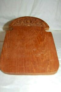 Antique Vintage Carved Wooden Bread Cheese Cutting Board Unique