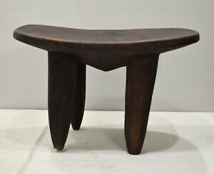 African Senufo Stool Washstand Wood Carved Cote D Ivoire Senufo Washstand