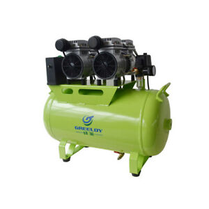 Greeloy Dental Noiseless Oil Free Oilless Air Compressor Ga 62 One Drive Three