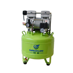 Greeloy Dental Noiseless Oil Free Oilless Air Compressor Ga 81 One Drive Two Lm