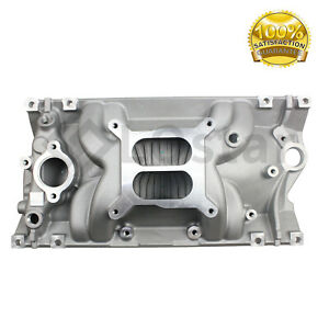 Intake Manifold 2716 Performer Eps Aluminum For Chevy 5 0 5 7l Vortec
