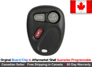 1x Oem Original Replacement Keyless Remote Key Fob For Gm 2002 2003 Saturn Vue