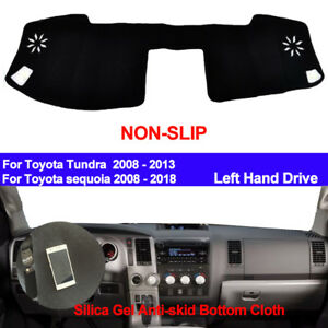 For Toyota Tundra Sequoia 2008 2011 2012 2013 Dash Mat Dashboard Cover Silicone