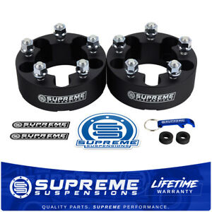 2 Wheel Spacers Black 1983 2012 Ford Ranger 5x4 5 Better Stance 4 Wider Track