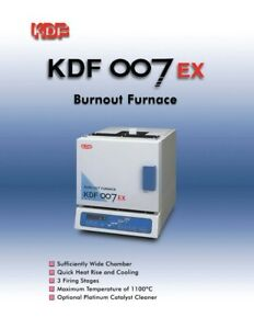 Dental Laboratory Burnout Furnace Kdf 007 Ex