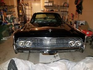 1963 Lincoln Continental Both Right And Left Re Chromed Front Grills