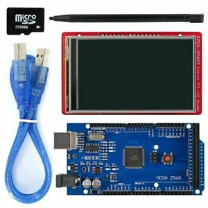 3 2 Arduino Tft Lcd Display Module Touch Screen Shield Mega2560 Warm Sensor