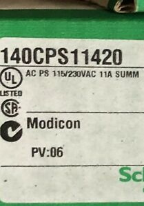 new sealed schneider Electric 140cps11420 Modicon Quantum Power Supply