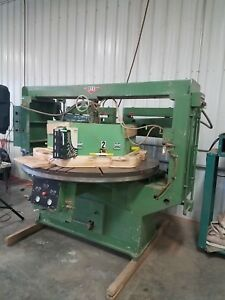 Rye Type R 80 Double Headed Automatic Wood Shaper Sander Machine No 910 77