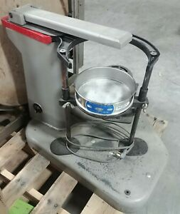 Rotap Sieve Shaker 1 4 Hp Motor Box 30 Count 8 Sieves Of Various Mesh