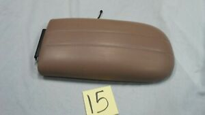 1997 2002 Ford Expedition Tan Center Console Lid Cover Lincoln Navigator Console