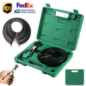 Piston Ring Service Tool Set Engine Ratchet Cleaning Expander Compressor 14 Band