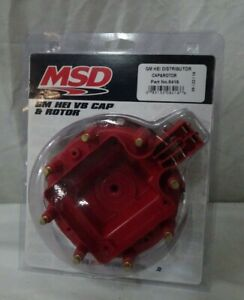 Msd Ignition 8416 Distributor Cap And Rotor Kit Gm Hei