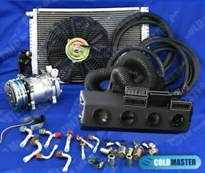New A C Kit Universal Under Dash Evaporator Kit Air Conditioner 12v 450a 000lr C