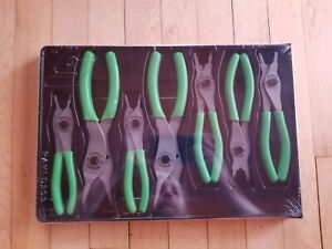 new Snap On Sprc107ag Snap Ring Plier Set Extreme Green Free Priority Ship