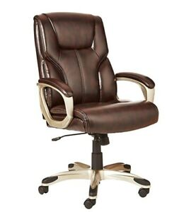 Amazonbasics High back Fully Adjustable Executive Chair For Office Brown