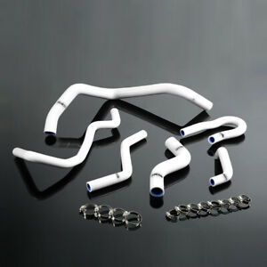 White Silicone Radiator Hose For Honda Civic 1 6l Sohc Ex Dx D15 D16 Eg Ek 92 00