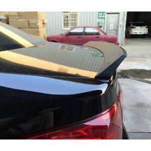 Flat Black 982 Itl Type Trunk Spoiler Wing For Honda Us Civic 7th 2001 05 Coupe