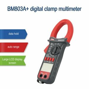 Szbj Bm803a Digital Clamp Multimeter Ac dc Frequency Temperature Tester Ohm Ec