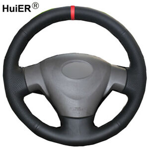 Hand Sew Car Steering Wheel Cover For Toyota Corolla 2006 2010 Auris 2007 2009