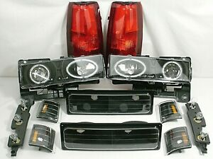 1994 1998 Gmc Sierra 1500 2500 Headlights Park Marker Corner Tail Brake Lights