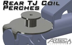 Artec Rear Tj Coil Perches And Retainers 3 Inch Pair