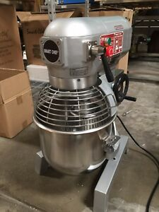 20qt Commercial Bakery Dough Food Mixer Gear Driven Three Speed W etl nsf listed